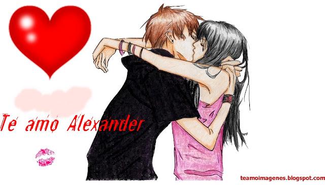 te amo alexander, teamoimagenes.com