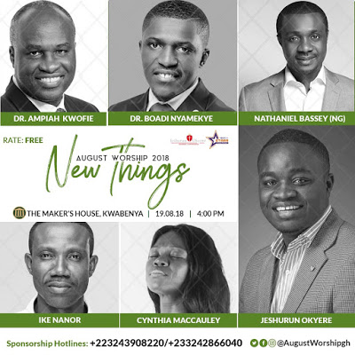 Nathaniel Bassey, Jeshurun And Others For August Worship