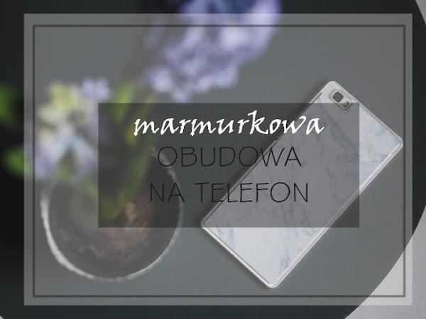 159. Marmurkowa obudowa na telefon | Trendmania.pl