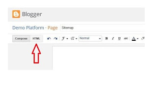 How To Create A Responsive HTML Sitemap Page In Blogger