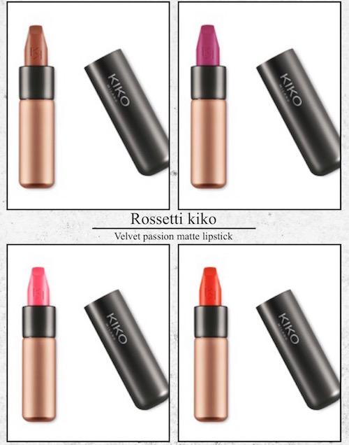 kiko, rossetto, kiko velvet passion matte lipstick, matte
