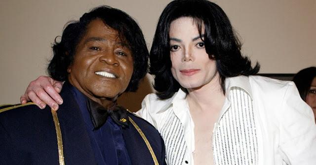 Doua legende ale muzicii - James Brown si Michael Jackson