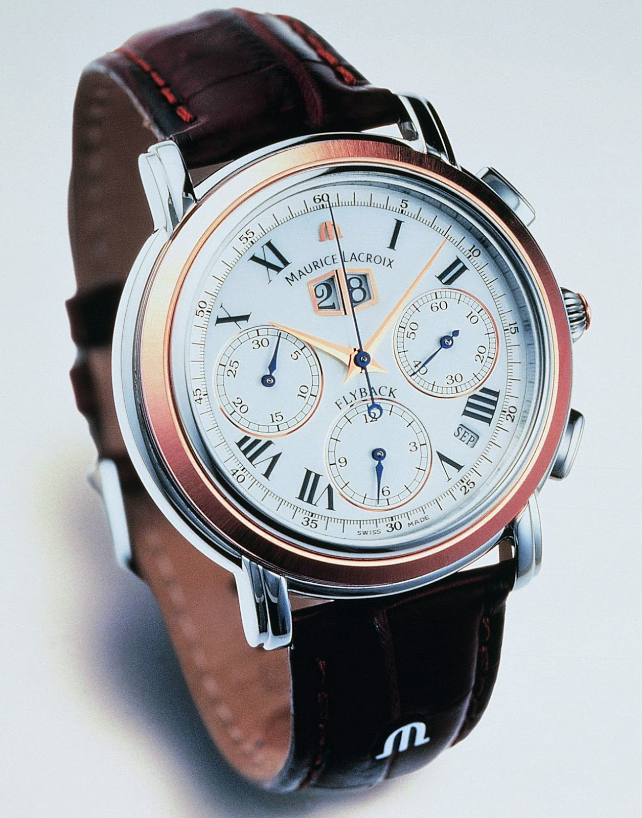 MAURICE LACROIX Masterpiece Flyback Annuaire - Split-Seconds Chronograph with Annual Calendar