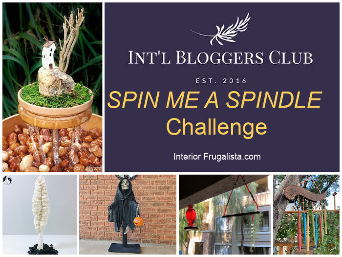 Spin Me A Spindle Challenge by the talented members of the Int'l Bloggers Club
