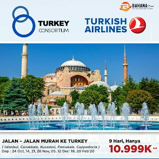 TOUR TURKI 2020 BAHANA TOUR SEMARANG