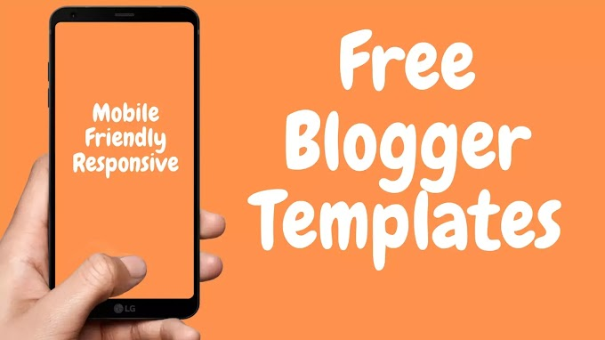 Best Responsive Premium Blogger Template | Without Footer Credit 2020