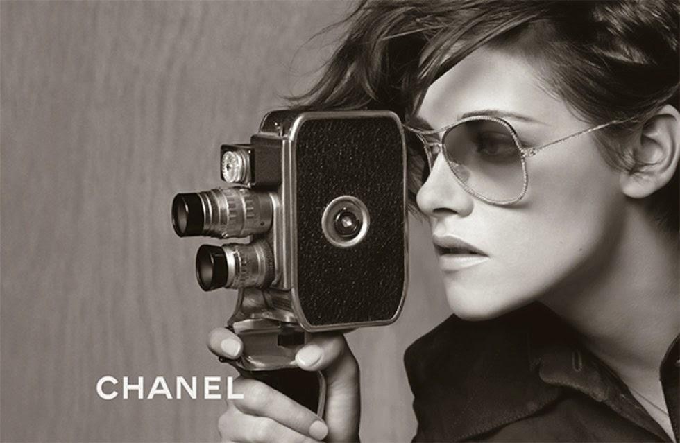 Kristen Stewart in Chanel's Spring Summer 15 Eyewear FULL Ad Campaign