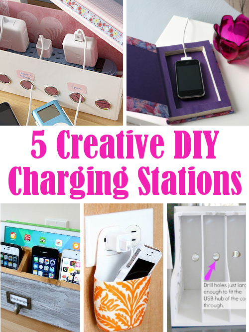 5 Creative Diy Charging Stations | DIY Home Sweet Home
