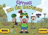 Esta vez te traemos otro divertido juego de Clarence de Cartoon Network en Un Día Increíble (Clarence's Amazing Day Out) Juega a los rápidos minijuegos para sumar puntos, cada minijuego que pasas suma un punto, tienes tres oportunidades para fallar.