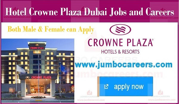 Urgent Hotel Jobs in UAE, Hotel job openings in Gulf Countries,