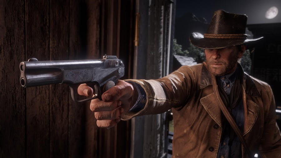 red dead redemption 2 pc arthur morgan evans repeater high roller le mat revolver m1899 pistol rockstar games november 5
