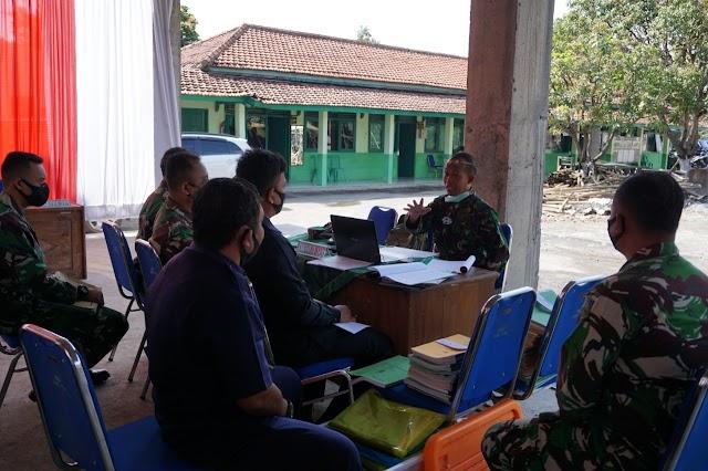 Media Pembelajaran, Kodim Batang Terima Wasrik Itdam IV/Diponegoro