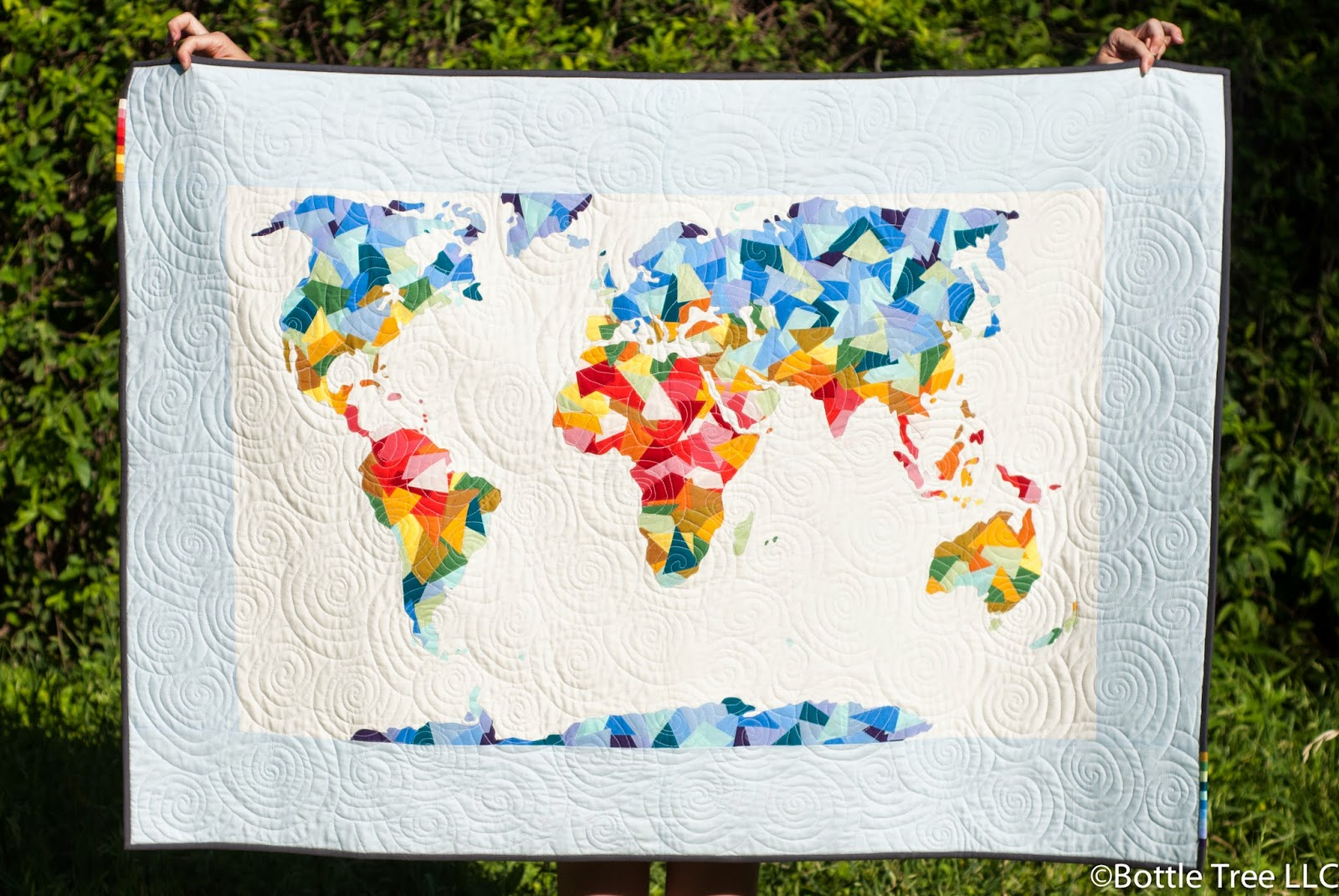 Inspired by Fabric: Behind the Scenes: Around the World