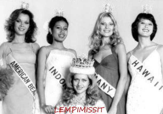 indri hapsari soeharto runner up miss international 1977
