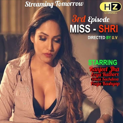 Miss-Shri Web series Hootzy Wiki, Cast Real Name, Photo, Salary and News