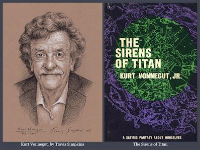 Kurt Vonnegut. The Sirens of Titan. Kurt Vonnegut Museum & Library. by Travis Simpkins