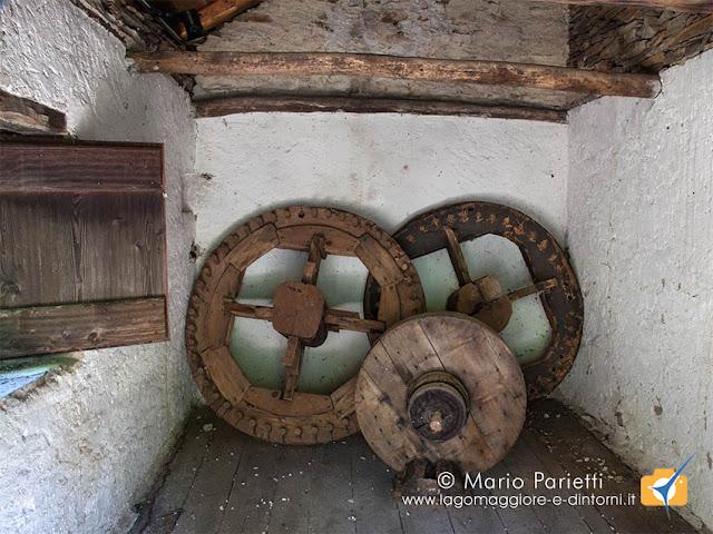 Mulini di Piero, interno