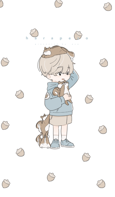 Boy and Squirrel