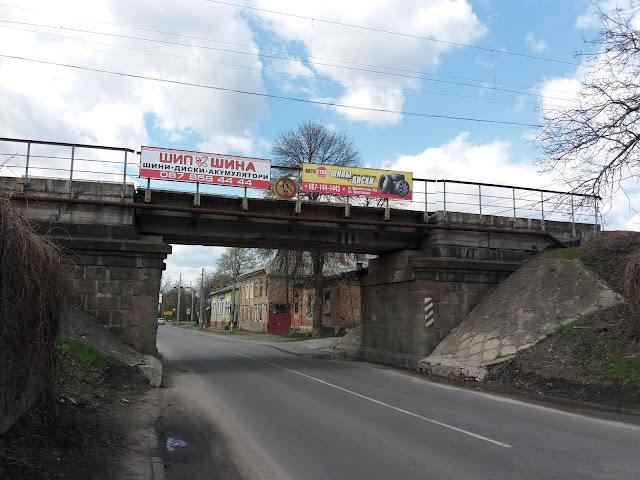 Залізничний шляхопровід через провулок Літературний (Кременчук)