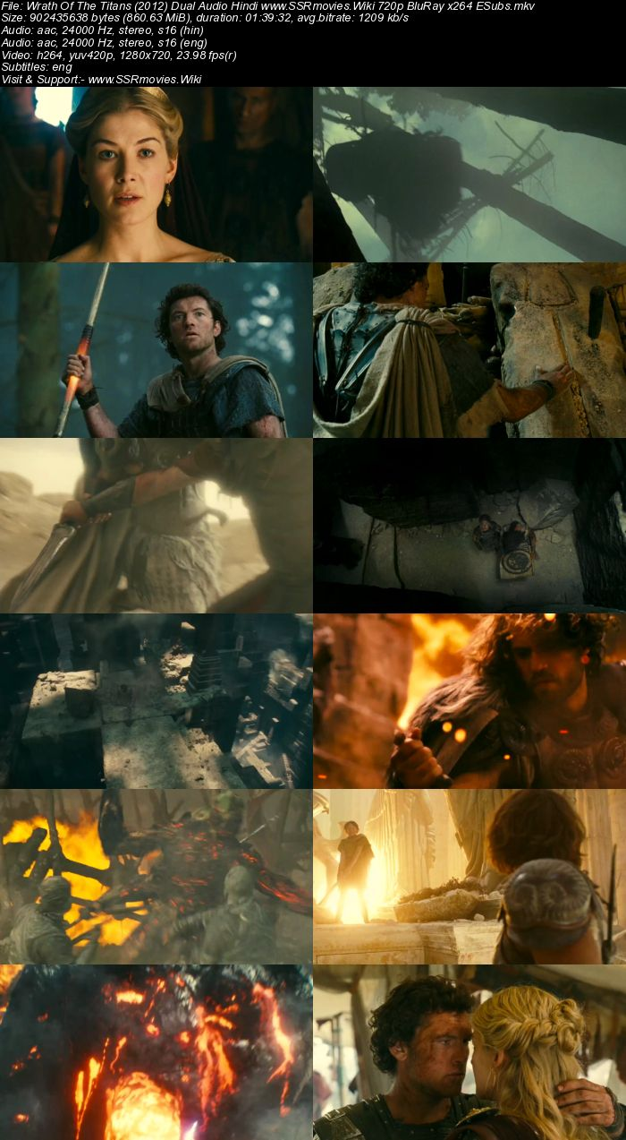 Wrath Of The Titans (2012) Dual Audio Hindi 480p BluRay 300MB ESubs Movie Download