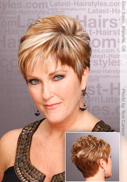 Short Hairstyles For Women Over 40 The New Hair Style