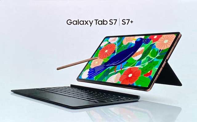 جهازي Galaxy Tab S7 و S7 + بدعم 5G من شركة Samsung,شركة سامسونج,سامسونج اس 7,سامسونج ,جالاكسي تاب,اس ٧,سامسونج اس 7 الجديد,s7 5g,اس سفن,جلكسي تابلت,samsung galaxy s 7 plus,galaxy s7+,samsung s7 5g,Samsung,Galaxy Tab S7,galaxy s7,tab s7