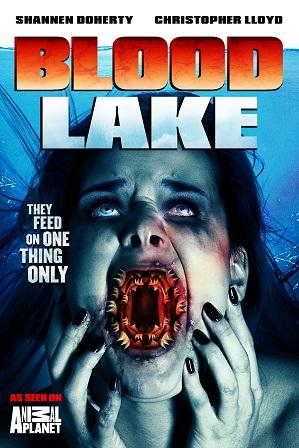 Blood Lake : Attack of the Killer Lampreys (2014) 300MB Full Hindi Dual Audio Movie Download 480p Bluray