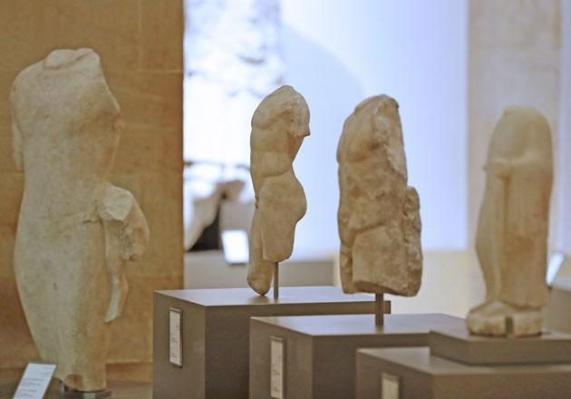 Ancient statues return to Lebanon as war on smuggling intensifies