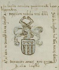 Graf van Johan Ottensz van Haeften vlg. Van Buchel