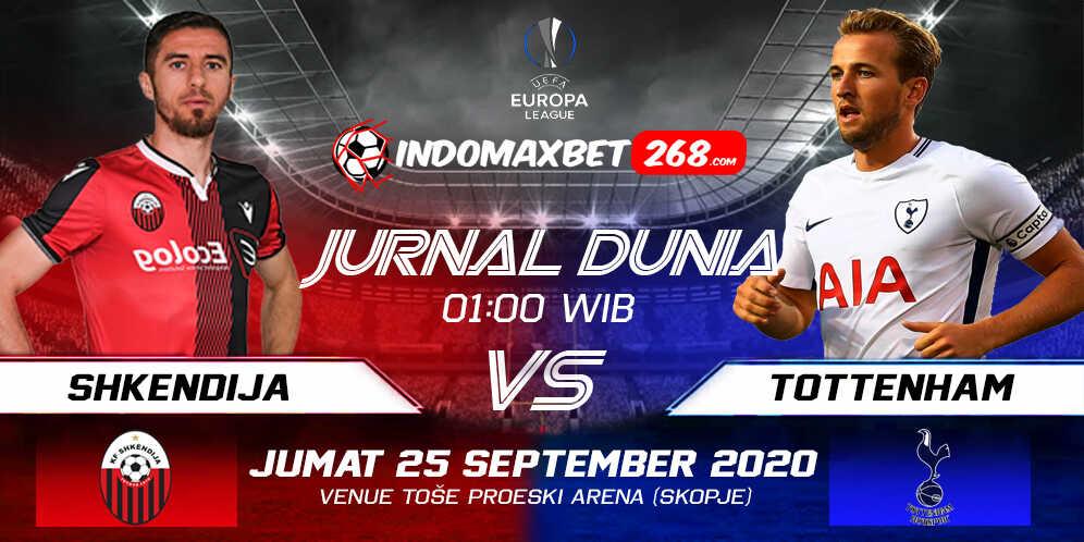 Prediksi Shkendija vs Tottenham Hotspur 25 September 2020 Pukul 01:00 WIB