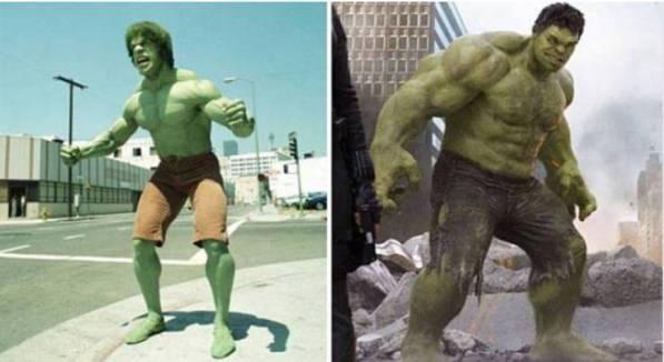Penampilan Unik 10 Superhero Jaman Dulu dan Sekarang, Yang Dulu Kocak Banget!