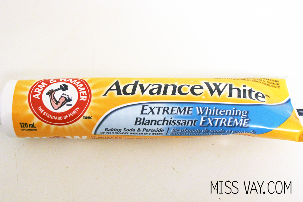 Dentifrice Advance White Blanchissant Extrême de Arm & Hammer