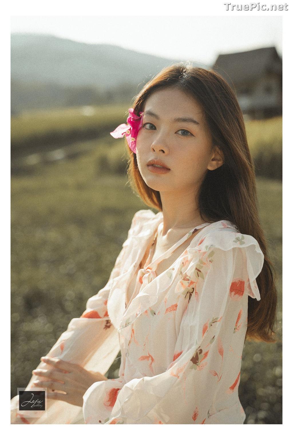 Image Thailand Hot Model - Nut Theerarat - Nutwch Black Pink - TruePic.net - Picture-1