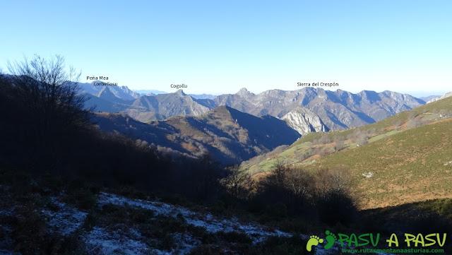Sierra del Crespón desde Fanarriondas