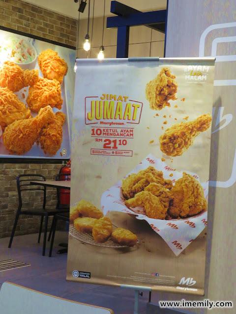 Marrybrown Jimat Jumaat Promo - chicken set promotion