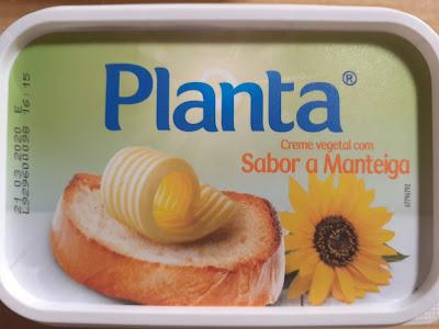 Planta creme vegetal com sabor a manteiga