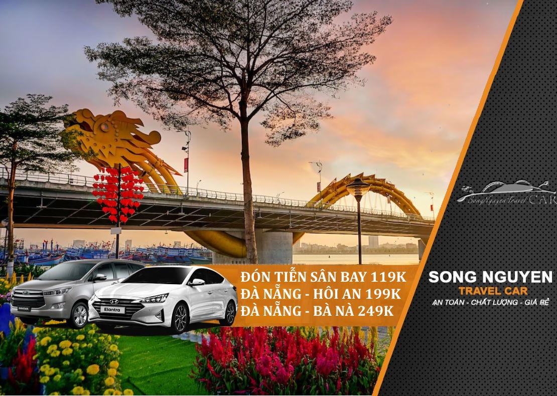 Thuê xe ô tô Đà Nẵng đi Hội An