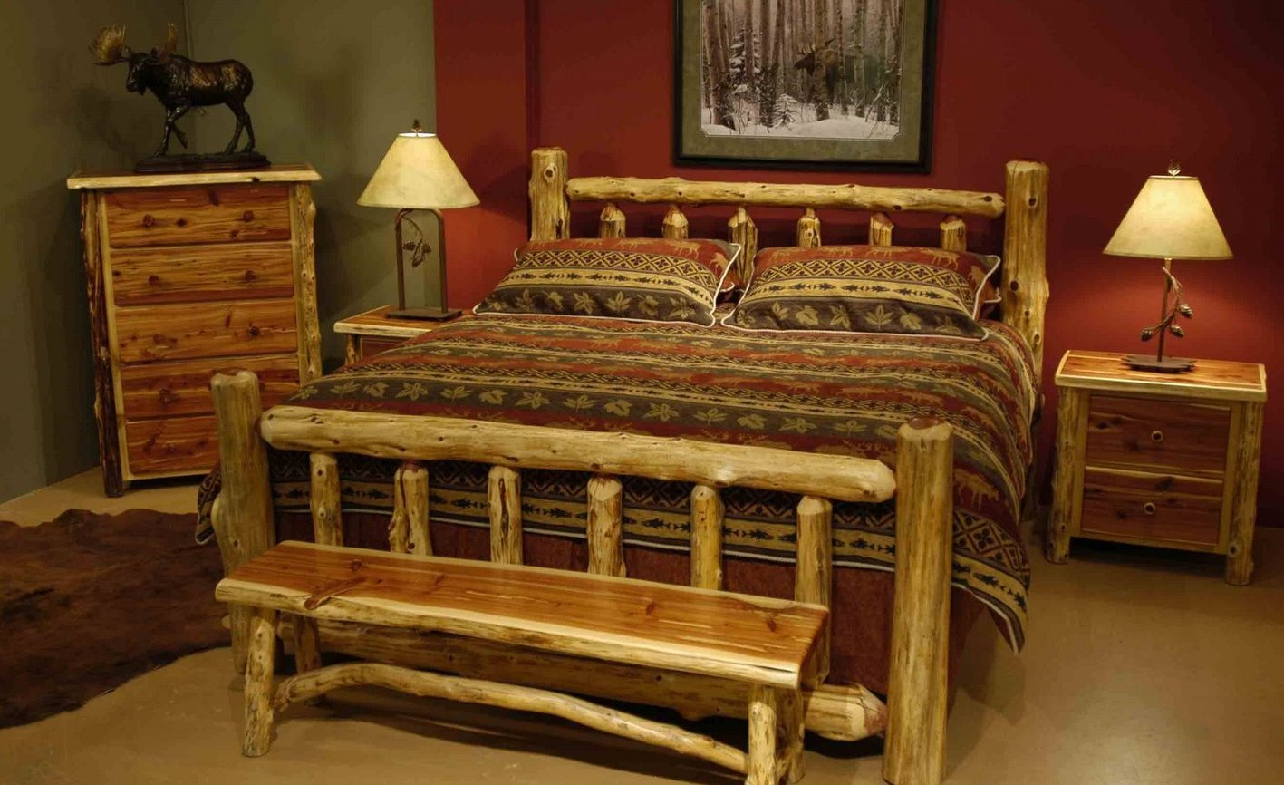 Home Priority Homey Feeling Of Rustic Bed Frames Ideas