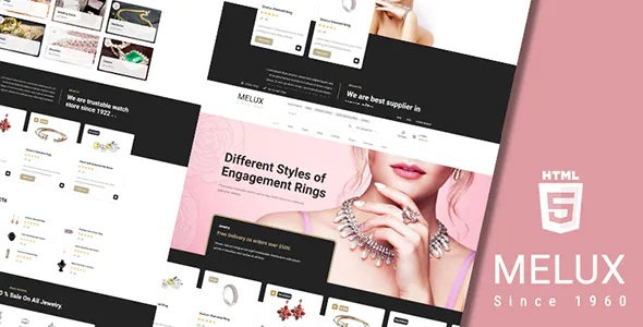 Best Jewelry Shop HTML Template
