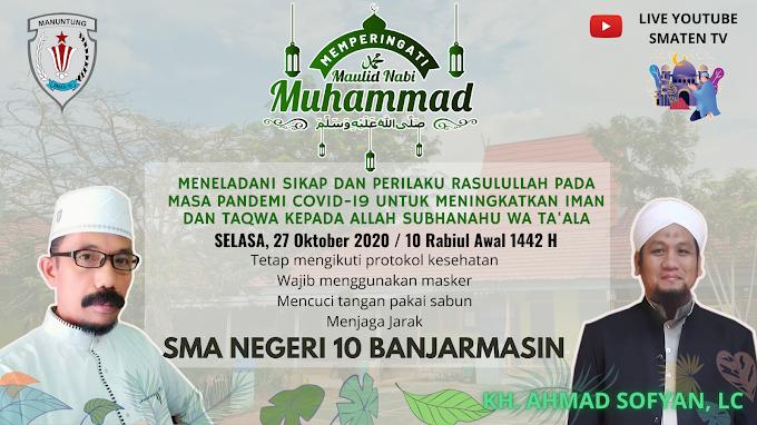 Live Streaming Maulid Nabi Muhammad SAW