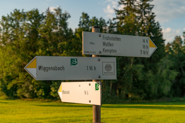 Wandertrilogie Allgäu | Etappe 09 Altusried-Schmidsfelden - Wiesengänger Route 09