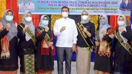 Bunda PAUD Kecamatan dan Pokja PAUD Kota Sawahlunto Dikukuhkan