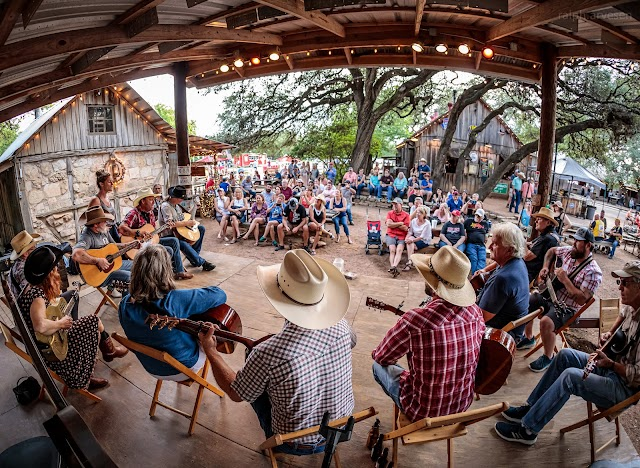 Picker Circle Unplugged Acoustic Jam at Luckenbach Texas in Fredericksburg, Texas