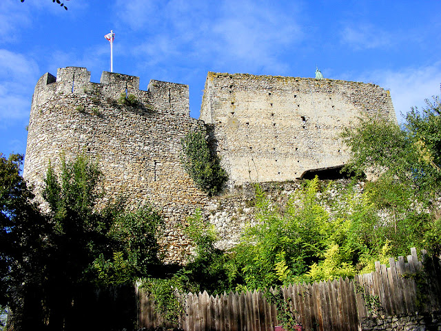 Forteresse de Montbazon, Indre et Loire, France. Photo by Loire Valley Time Travel.