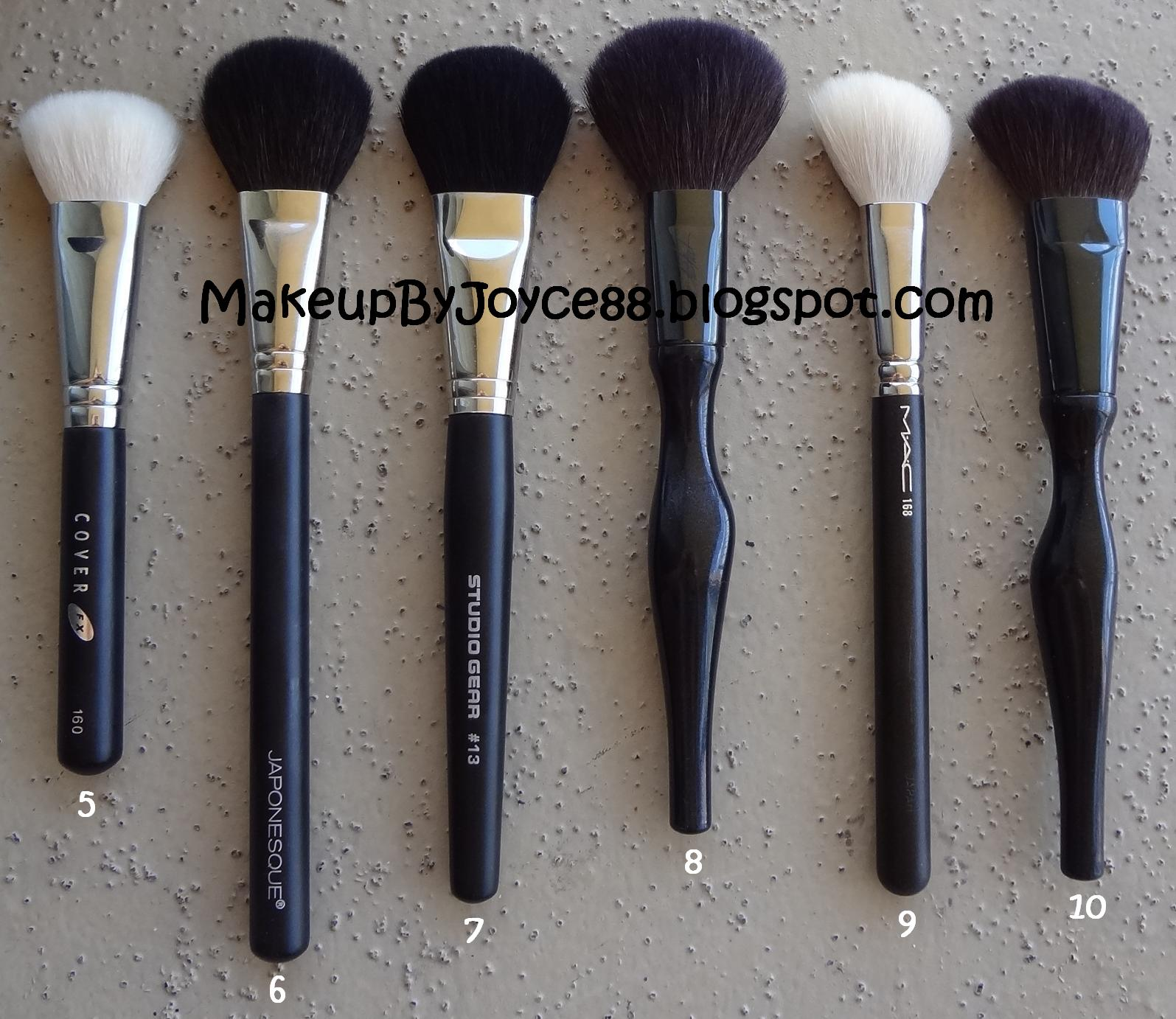 MakeupByJoyce ** !: Overview: Brush Collection