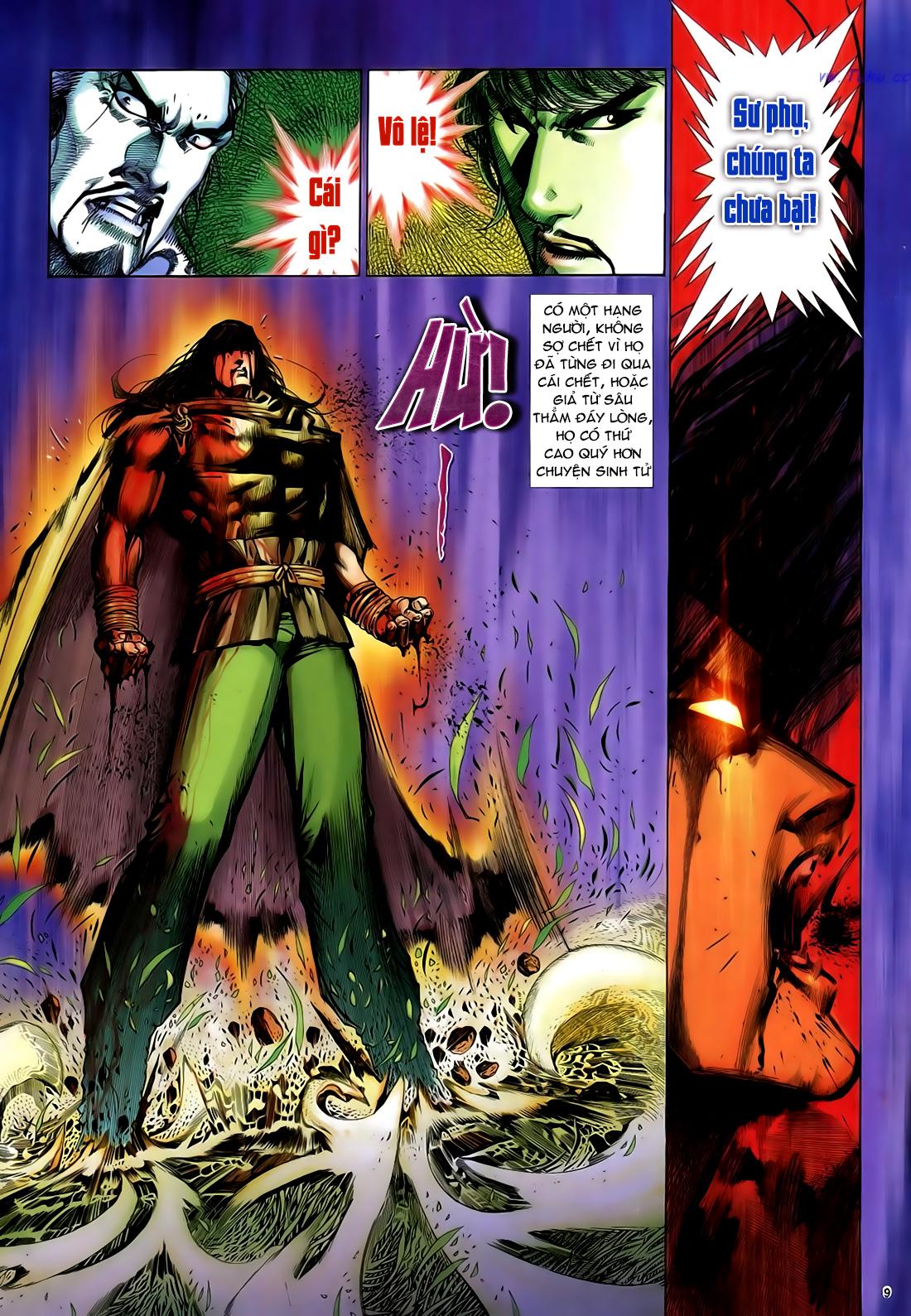 Anh hùng vô lệ Chap 29 trang 10