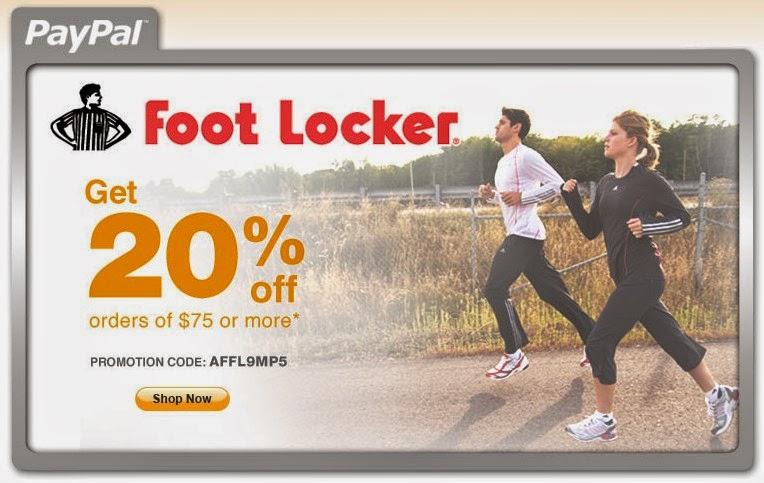 Footlocker coupon codes