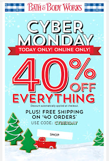 Bath & Body Works | Today's Email - December 2, 2019