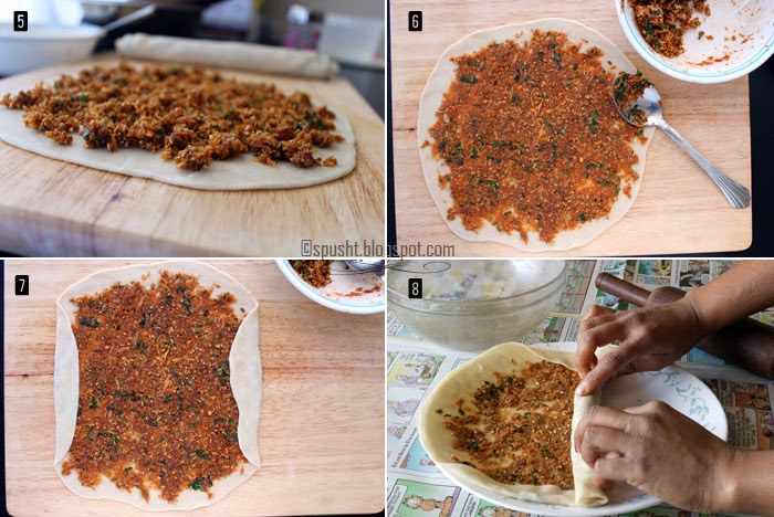 Spusht | How to make bhakarwadi