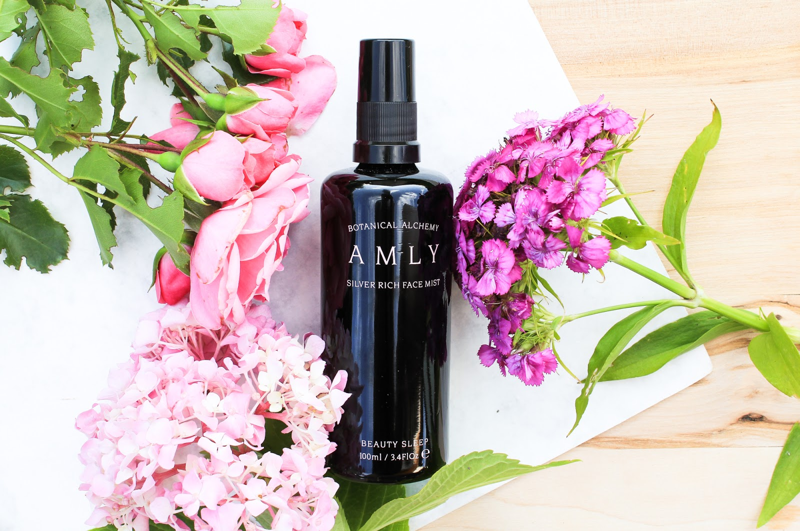 Amly Botanicals Beauty Sleep Silver Rich Face Mist, Boxwalla beauty box